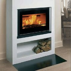 Inset fireplaces offered by Ampthill Fireplaces Inset Fireplace, Log Burner Fireplace, Wood Burning Fireplace Inserts, Home Fireplace, Wood Burner, Modern Fireplace, Fireplace Design, Fireplaces, Fireplace Ideas