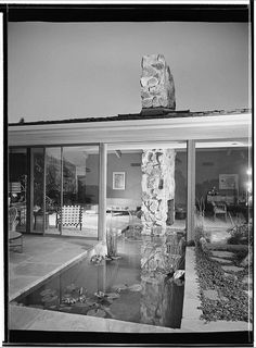 Welton Becket Residence - Los Angeles, CA, 1952