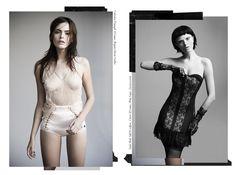 A mágica e o mistério por trás da lingerie // 1-06-2012 // Shooting // FFW Fashion Forward