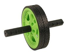 Da Vinci Dual Wheel Ab Roller Green  Best Abdominal Rollout Exercise Equipment with Anti Slip Foam Grips  Double Wheels >>> Check this awesome product by going to the link at the image.