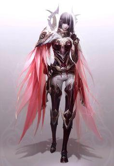 Angel con su armadura