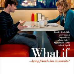 WHAT IF is the story of medical school dropout Wallace (Daniel Radcliffe), who's been repeatedly burned by bad relationships. So while everyone around him, including his roommate Allan (Adam Driver) seems to be finding the perfect partner (Mackenzie Davis), Wallace decides to put his love life on hold. It is then that he meets Chantry (Zoe Kazan) an animator who lives with her longtime boyfriend Ben (Rafe Spall). Wallace and Chantry form an instant connection, striking up a close friendsh...
