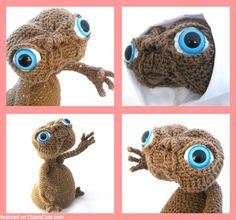 Crochet amigurumi E.T.