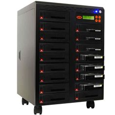 """Systor 1:16 SATA 2.5"""" & 3.5"""" Dual Port/Hot Swap Hard Disk Drive / Solid State Drive (HDD/SSD) Clone Duplicator/Sanitizer (SYS1016HS-DP)"""