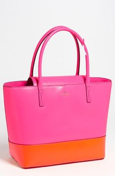kate spade new york 'madison park - small coal' leather tote available at #Nordstrom