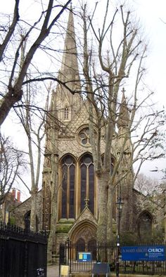 St. Mary Abbot's, Kensington. Reputedly the tallest spire in London.