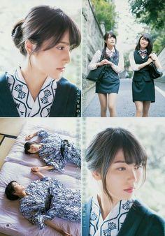 "AKB48 Anna Iriyama and Yui Yokoyama ""An Yui en"" on Young Jump Magazine"