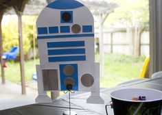 """Party Ideas for Star Wars with """"action levels""""- light saber, obstacle course, pinata, uniforms and more!"""
