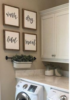 Cute for our laundry room