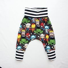 e2ec5d18885 Kawaii Marvel Harem Pants 6-9 Months Kawaii Super Hero Superheroes Harem  Pants Baby Spiderman Outfit Baby Thor Baby Super Hero Outfit