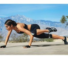 Toning Bodyweight Moves | Iguana: Works shoulders, chest, triceps, obliques, abs