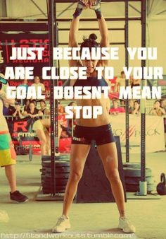 CLOSE TO YOUR GOAL? Don't stop living the LIFESTYLE!