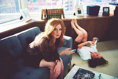 Sarah Rafferty and Meghan Markle