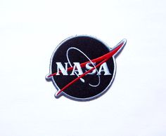 How To Iron Clothes, Patch Design, Face Down, Iron On Patches, Nasa, Applique, My Etsy Shop, Logos, Logo