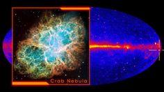 Crab Nebula - Hubble Space Telescope Visible Light Photo