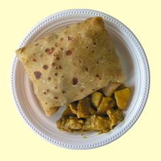 Rotis are little breads that you fill with pretty much anything you can think of. I've tried them with chicken, shrimps, beef, goat and veggies. Chicken with beans is my personal favourite. O…