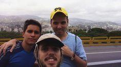 Una mañana dominguera de ejercicio Alvaro  Samuel y  Alberto