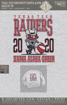 Kappa Alpha Order Mascot Sweatshirt PR | Fraternity Event | Greek Event #kappaalphaorder #kappaalpha #theorder #ka Kappa Alpha Order, Pi Shirt, Texas Tech University, Greek Clothing, Fraternity, Shirt Ideas, Sweatshirts, Greek Outfits, Trainers