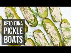 Low-Carb Keto Tuna Pickle Boats – Forkly