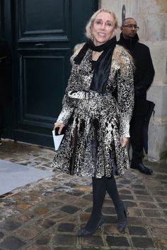 Franca Sozzani Photos - Franca Sozzani attends the Christian Dior show as part of Paris Fashion Week Haute Couture Spring/Summer 2014 on January 20, 2014 in Paris, France. - Arrivals at the Christian Dior Show