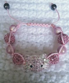 Kitty Sambella Bracelet by LEACreations on Etsy