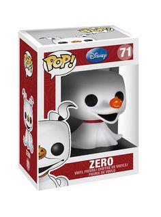 Funko Disney Pop! The Nightmare Before Christmas Zero Vinyl Figure,