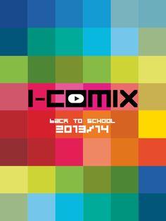 Cover catalogo I-Comix