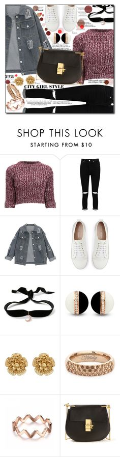 """The snow's comin' down....I'm watchin' it fall ♥"" by misskouture ❤ liked on Polyvore featuring Girls On Film, Boohoo, Mint Velvet, Aamaya by Priyanka, Miriam Haskell, Vitaly and Chloé"
