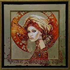 Kai Fine Art is an art website, shows painting and illustration works all over the world. Art And Illustration, Fantasy Kunst, Fantasy Art, Art Visage, Art Du Monde, Surrealism Painting, Klimt, Arte Pop, Art Graphique