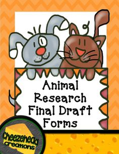 animal testing final draft Looking for some cute, fancy paper for your kids to write their final drafts on look no further this free writing paper is perfect for your kids to write their final draft on and it includes a space up top for their title.