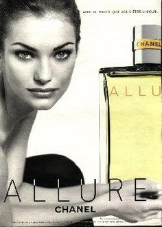 Allure by Chanel with Simone Van Baal (1998).