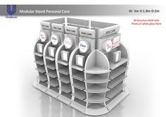 Unilever Modular Stand Personal care on Behance