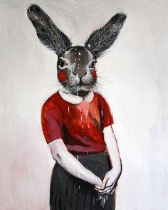 Rabbit (on exhibition until 17th March), Hanna Ilczyszyn