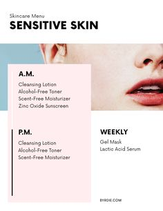 The best skincare products for sensitive skin