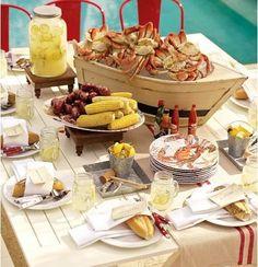 crab bake party!