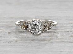 1.17 Carat Edwardian Engagement Ring Erstwhile