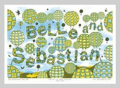 Belle & Sebastian End of The Road Poster