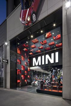 To coincide with the 2012 London Olympics, MINI opened a lifestyle pop-up store at the Westfield Stratford shopping center via PSFK: http://www.psfk.com/2012/08/minis-london-pop-up-shop-merges-cars-with-fashion-retailing-pics.html#ixzz22kW2Qzz7