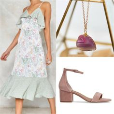 Honeymoon Style Guide: Tropical destination / Romantic dinner outfit inspiration for tropical vacation / by J'Adorn Designs custom jewelry with Lipstick & Chiffon