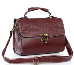 Sac a main steampunk marron a motifs vintages > JAPAN ATTITUDE - ACCSAC030   Shop : www.japanattitude.fr