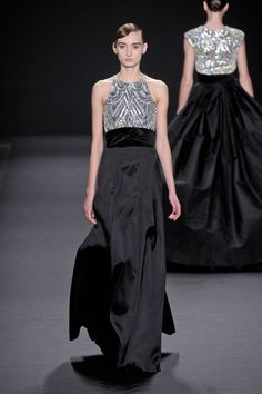 Naeem Khan Fall 2013 Ready-to-Wear Runway - Naeem Khan Ready-to-Wear Collection - ELLE