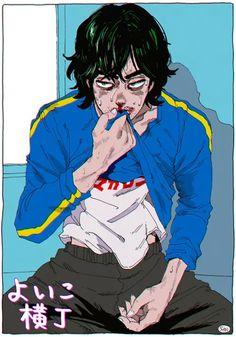 anime animeboy art kaneoyasachiko artistic