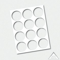 Inch Circle Template Party Printable Template Png Template