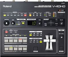 Roland Multi-Format Video Switcher New Audio, Recording Equipment, Signal Processing, Hd Streaming, Hd Video, 8 Bit, Cameras, Music Production, Music Store