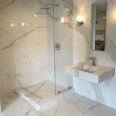 Verona Showers offer Grout-Free Slim Slab porcelain shower walls and floors in Virginia, DC, MD. Slim Slab is beautiful, durable, and easy to keep clean. Shower Floor Tile, Shower Wall Panels, Shower Walls, Bathtub Walls, Bathroom Flooring, Bathroom Tubs, Bathroom Ideas, Bathrooms, Verona