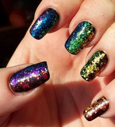 Glitter on Your Nails for Special Occasions: 17 Elegant Nail Art Ideas