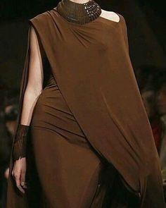Donna Karan #browns #drapes #love #me #instagood #picoftheday #photooftheday #fabulous #jewelry #fabrics #feminine #fantasy #beautiful…