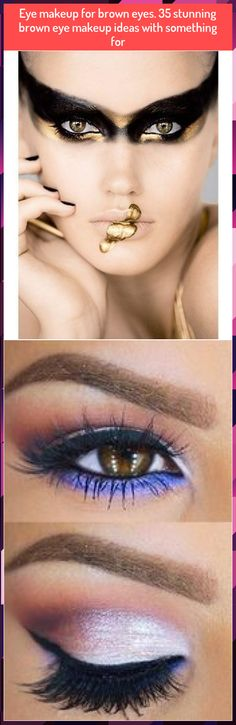 Eye makeup for brown eyes. 35 stunning brown eye makeup ideas with something for Eye makeup for brown eyes. Gold Eye Makeup, Makeup For Brown Eyes, Gold Eyes, Makeup Ideas, Make Up, Jewelry, Golden Eyes, Maquillaje, Jewellery Making