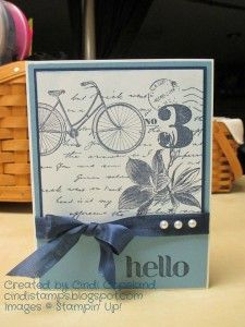 This week's challenge at Can You Case It? is a sketch challenge. And here's my card: While our we. Card Patterns, Stamping Up, Greeting Cards Handmade, Vintage Cards, Scrapbook Cards, Stampin Up Cards, I Card, Cardmaking, Postcards