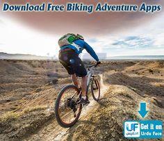 Pakistan First Ever Apps Store. Dream Comes True UrduFace  #MountainBiking #Biking #Cycling #BikingAdventure #AndroidApps #GameApps